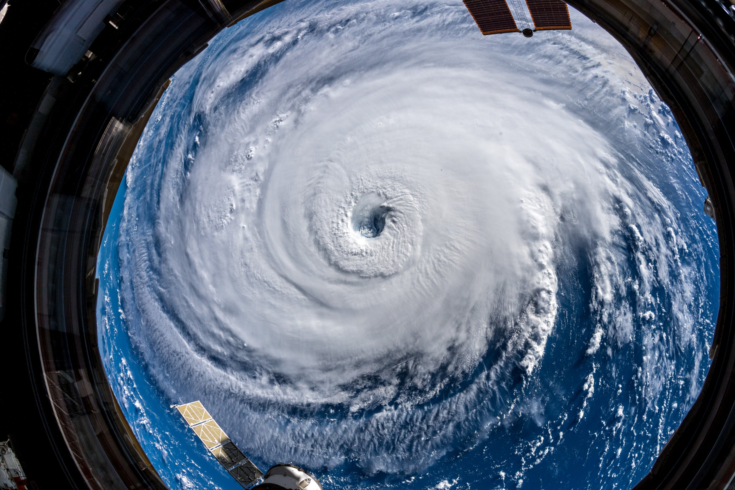 hurricane florence nasa