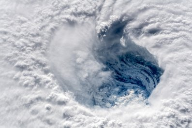 hurricane Florence nasa