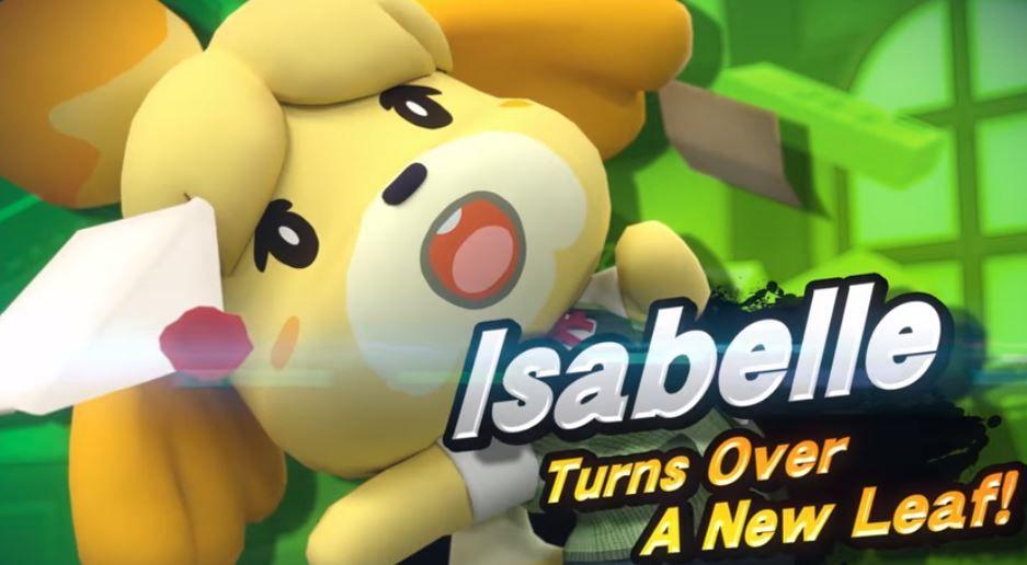 isabelle smash bros ultimate title