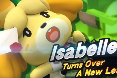 isabelle smash bros ultimate title