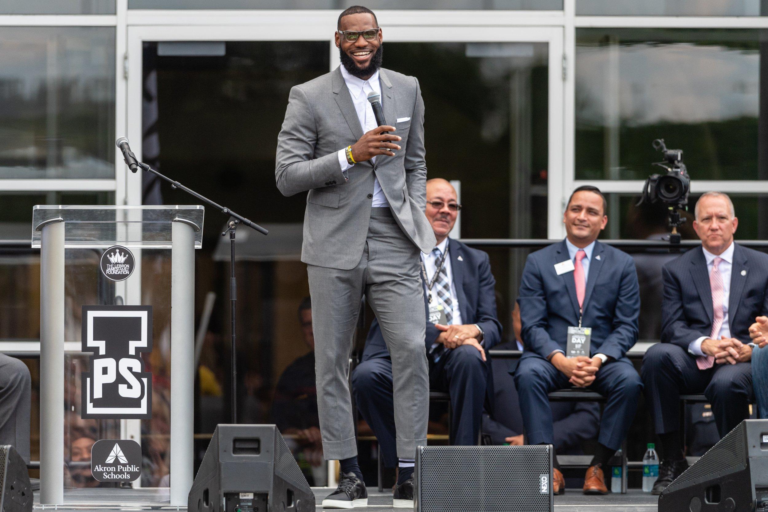 'Joke's on you': LeBron gloats as Nike shares hit all-time high