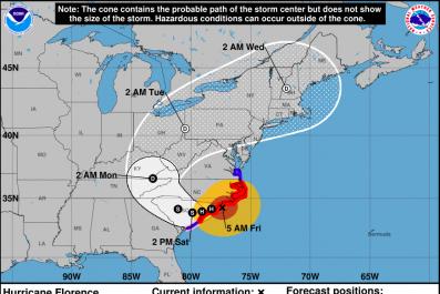 Hurricane Florence Tracker
