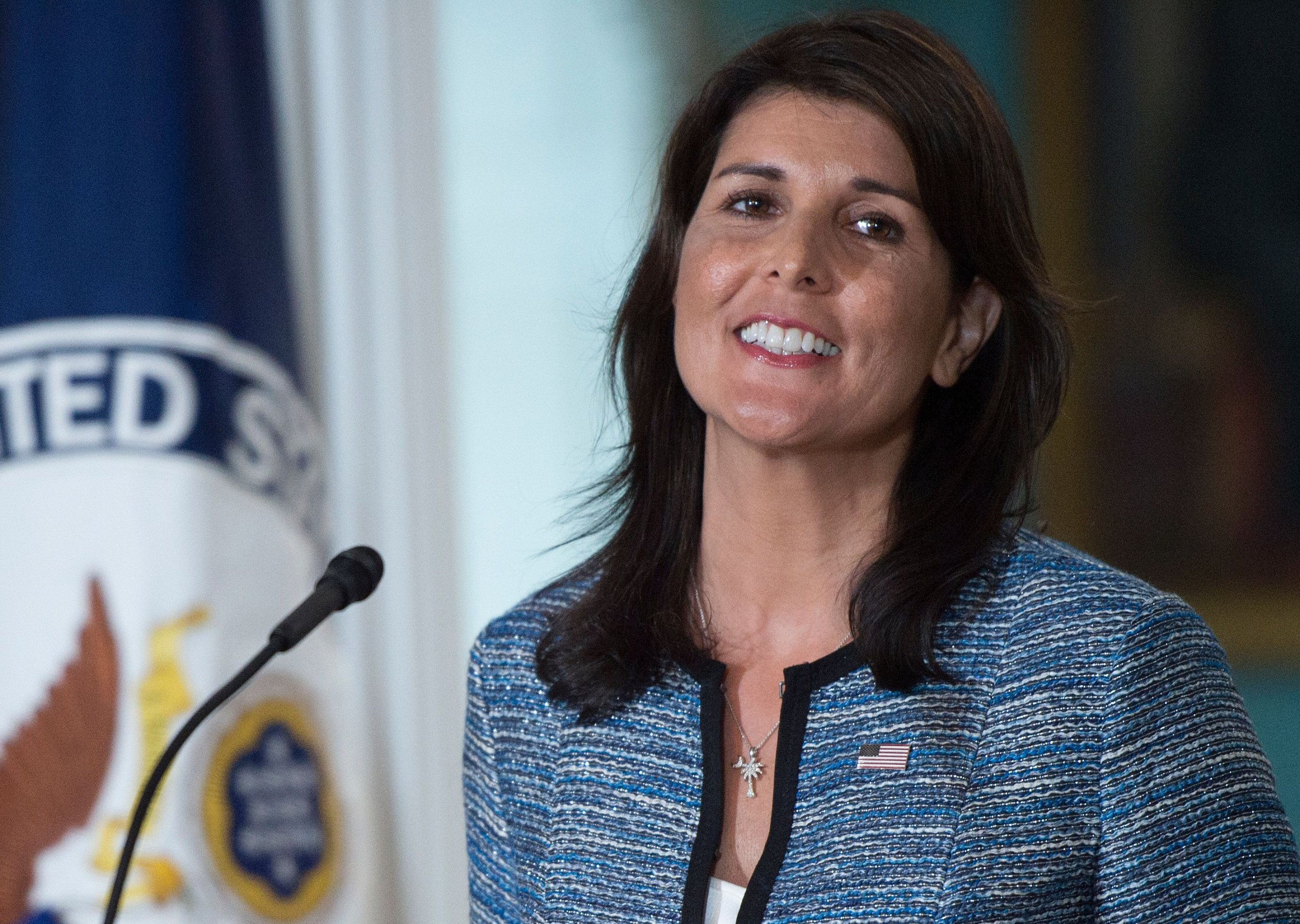 U.S. State Department Spent $52,701 on Nikki Haley's Curtains Amid Budget Cuts and Hiring Freeze: Report