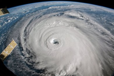 Hurricane Florence Approach