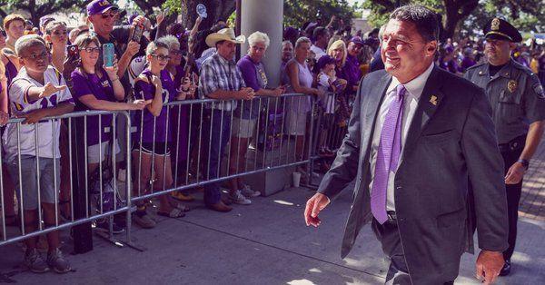Ed Orgeron, LSU coach