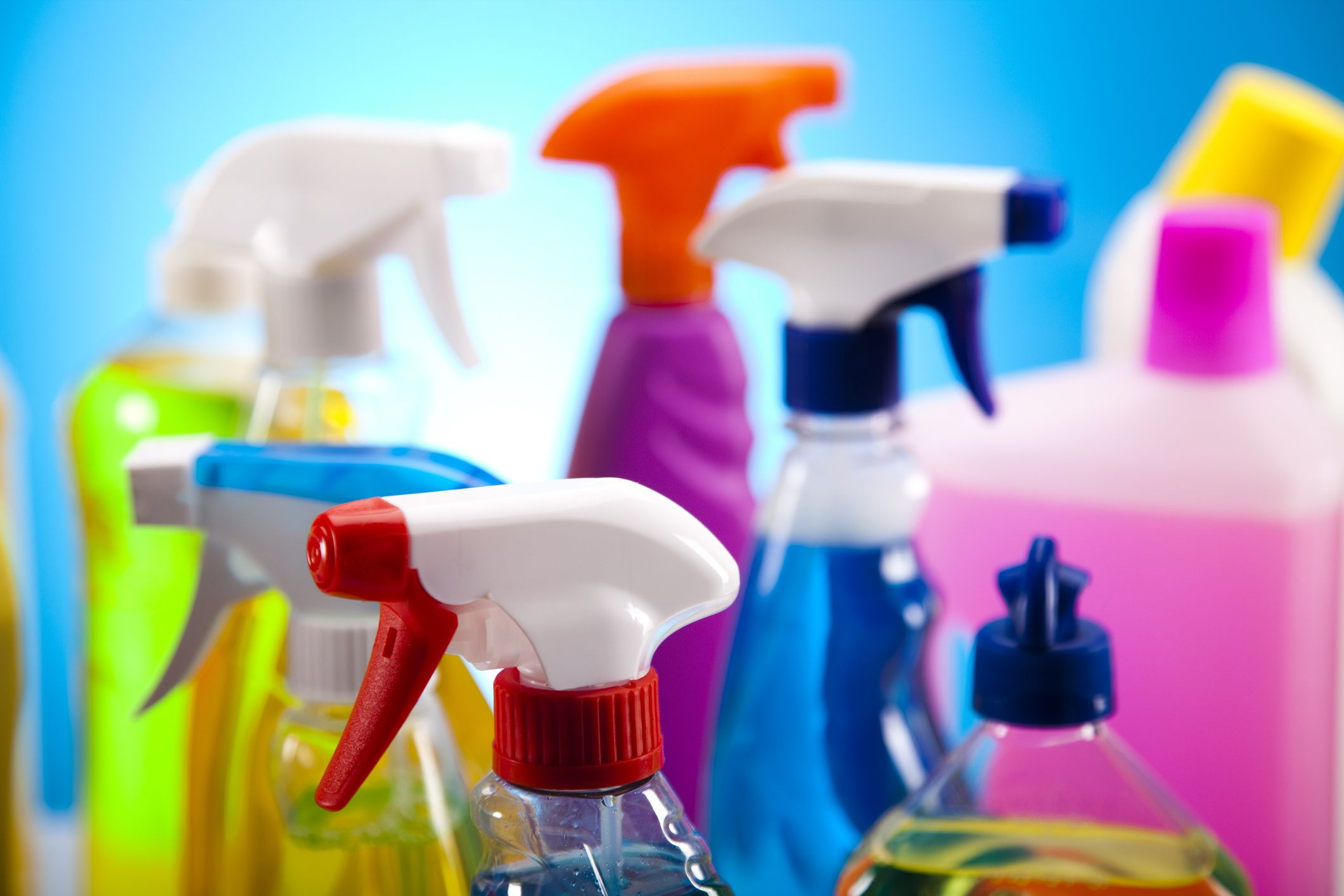 An image of cleaning products