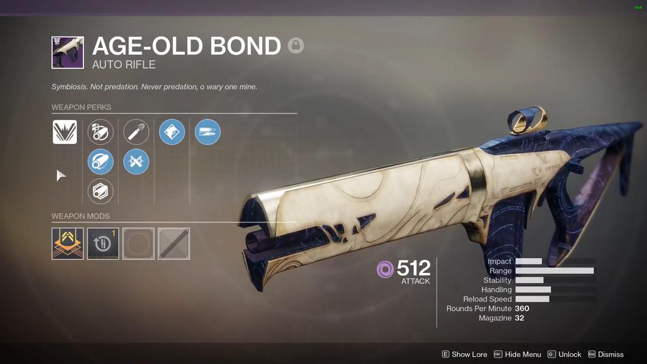 Destiny 2 Age-Old Bond