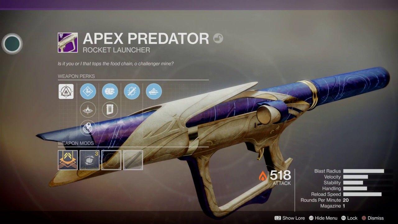 Destiny 2 Apex Predator