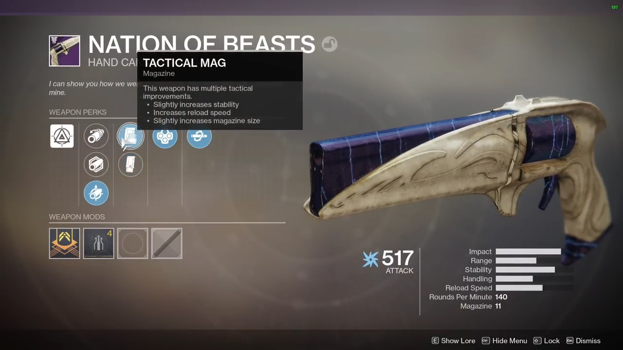 Destiny 2 Nation of Beasts