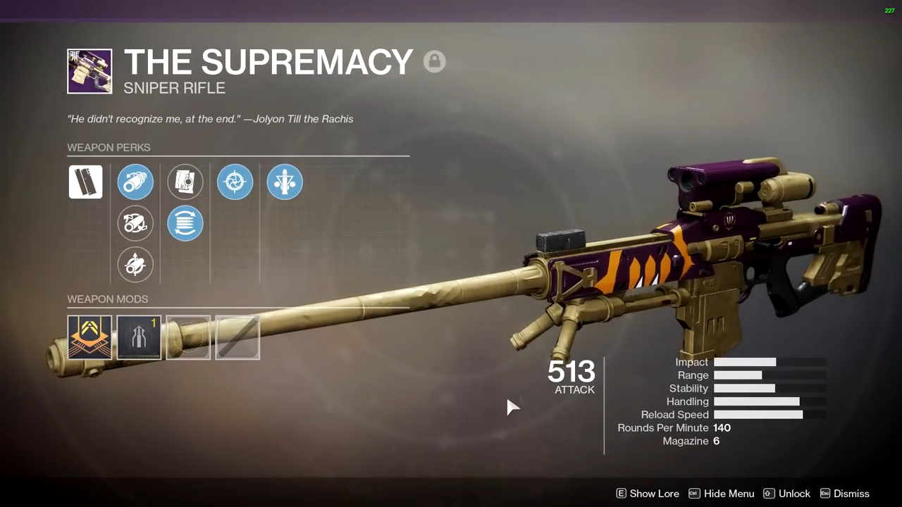 Destiny 2 The Supremacy