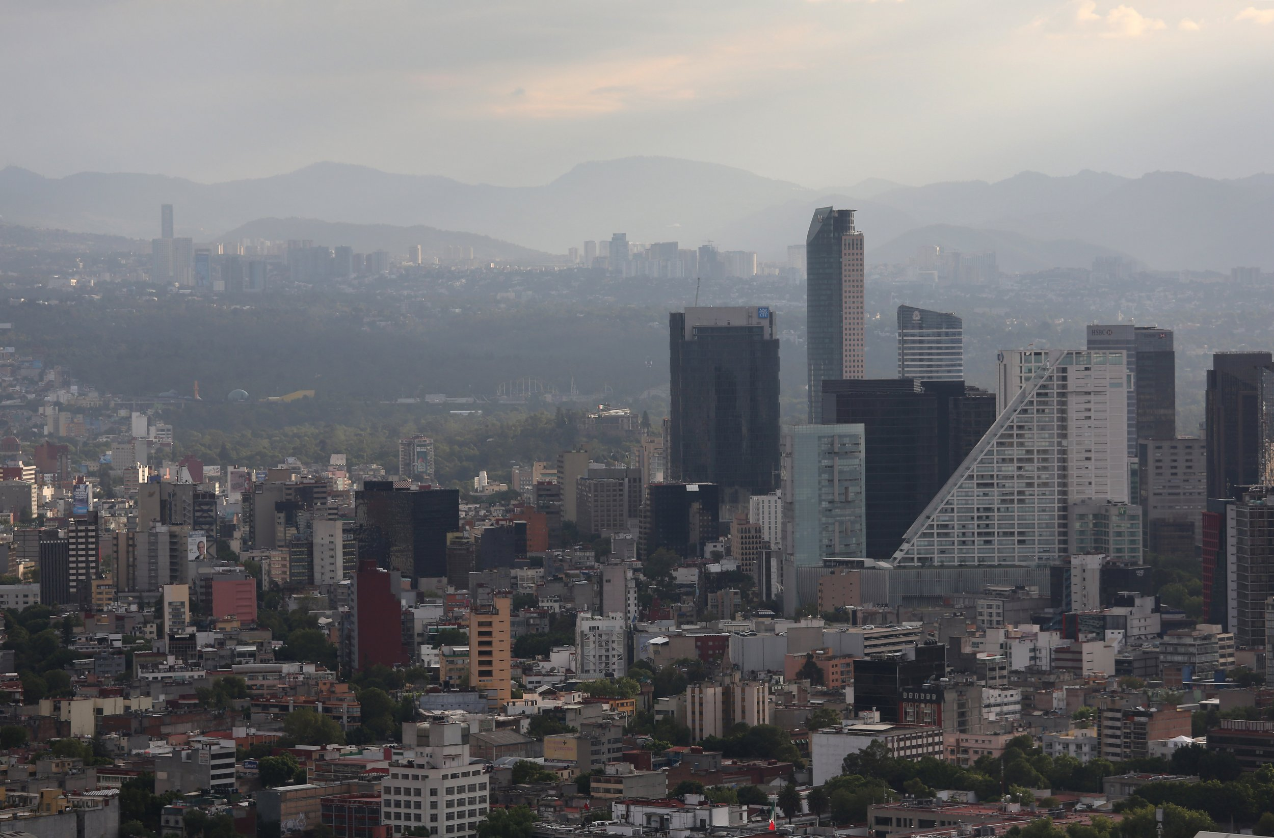Mexico City Is Sinking While Also Running Out Of Drinking Water