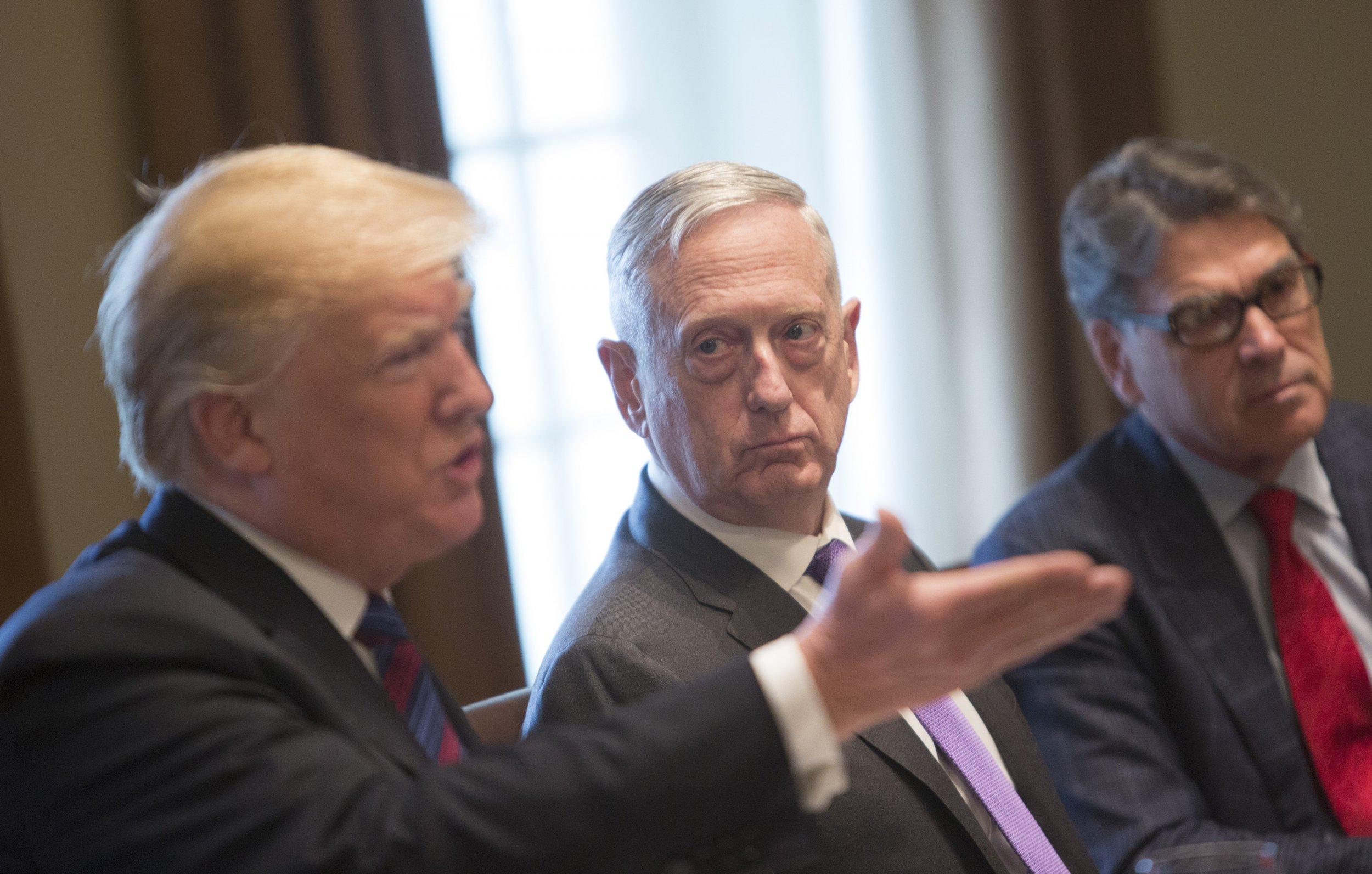 Trump is Tiring of Defense Secretary James Mattis, Thinks He is Secretly a Democrat