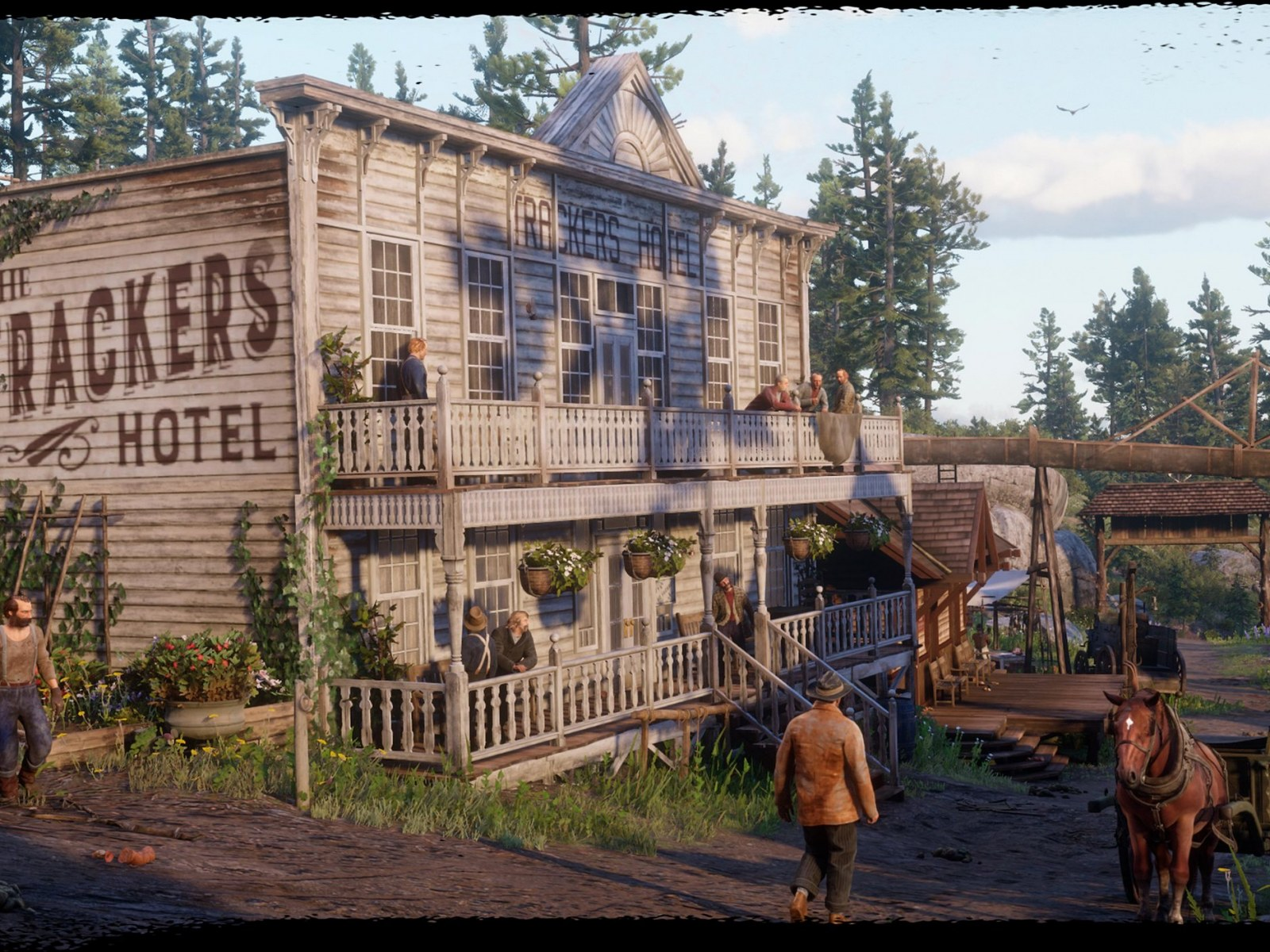 Red Dead Redemption 2' Map: New Towns Revealed Across the