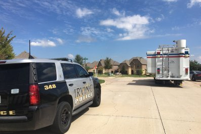 irving police department hostages