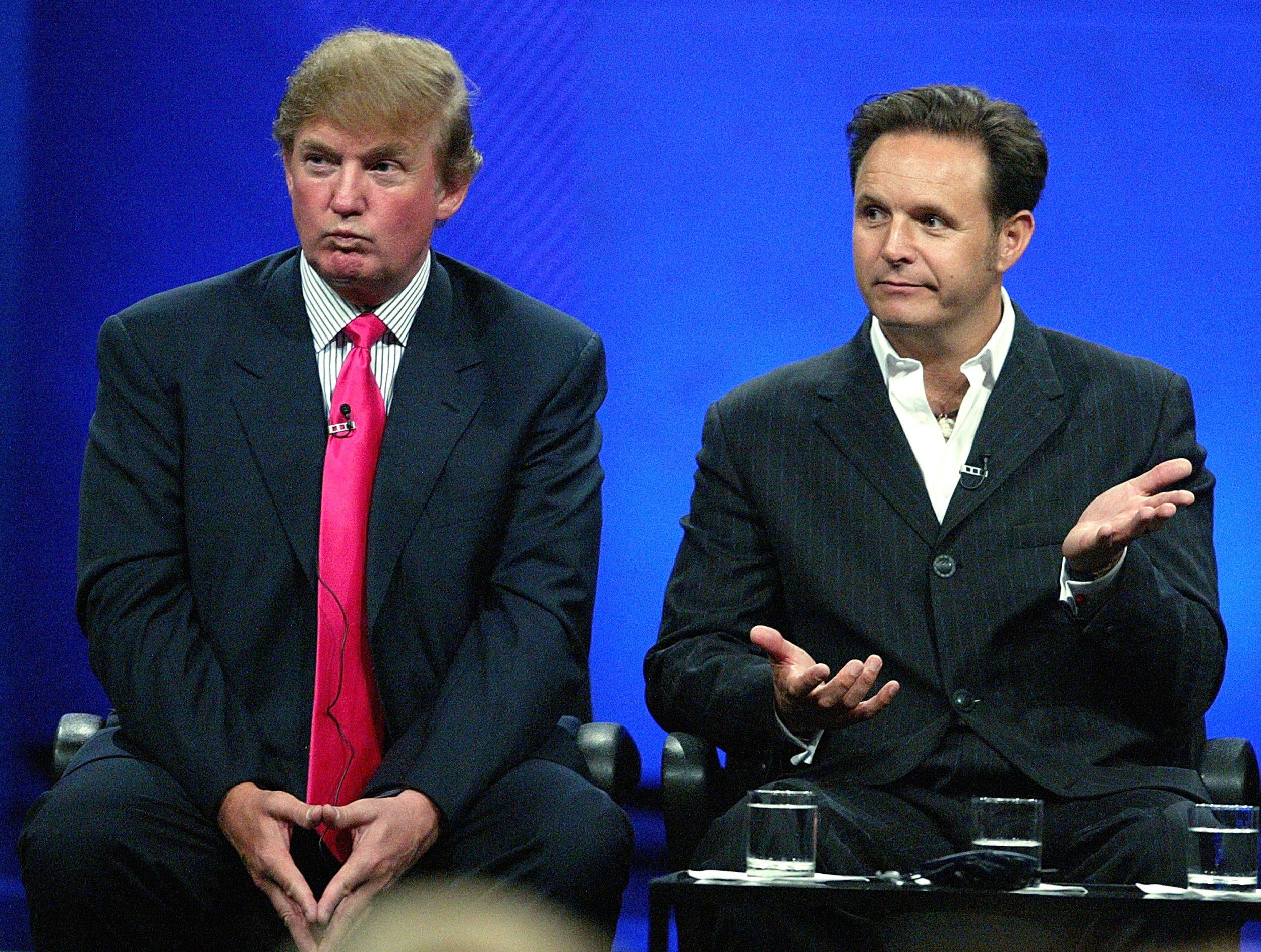 who is Mark Burnett, Apprentice tapes, Donald Trump