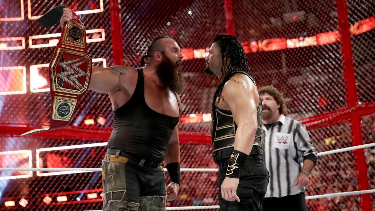 Sat Time Length >> WWE's Braun Strowman is 'Disappointed' With the Finish to Hell in a Cell