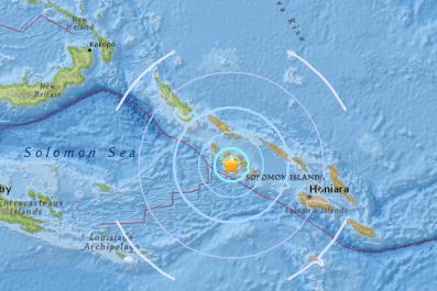 Earthquake Solomon Islands