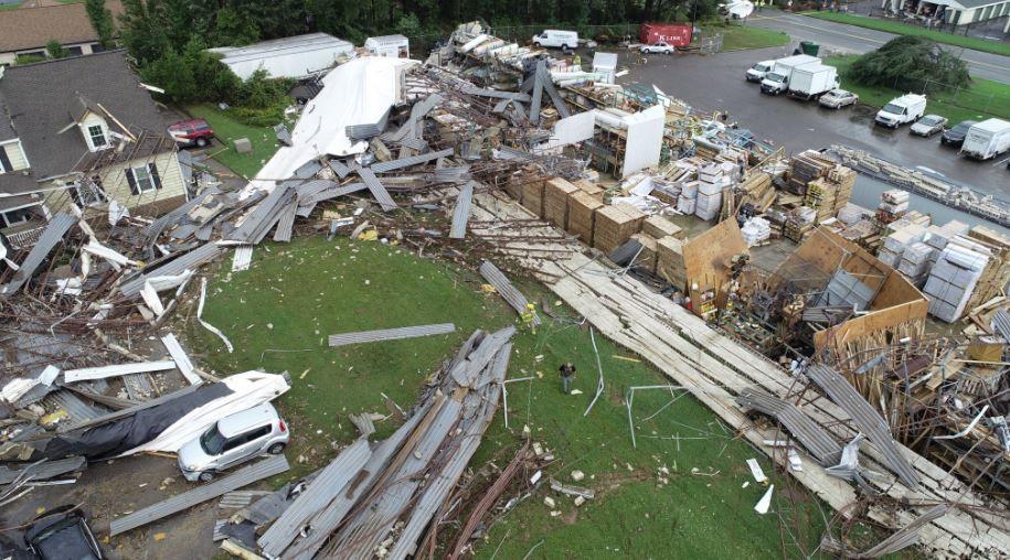 richmond tornado hurricane florence