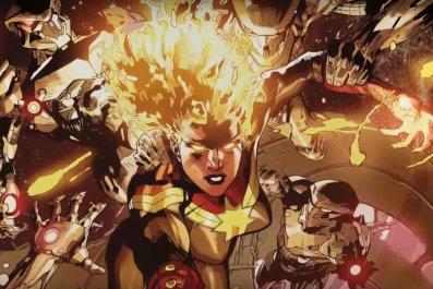 captain marvel binary form powers trailer explained