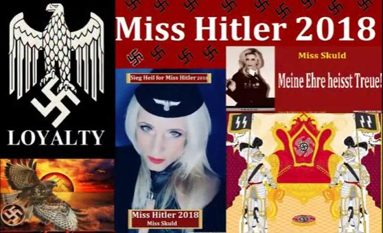 'Miss Hitler 2018' VKontakte page