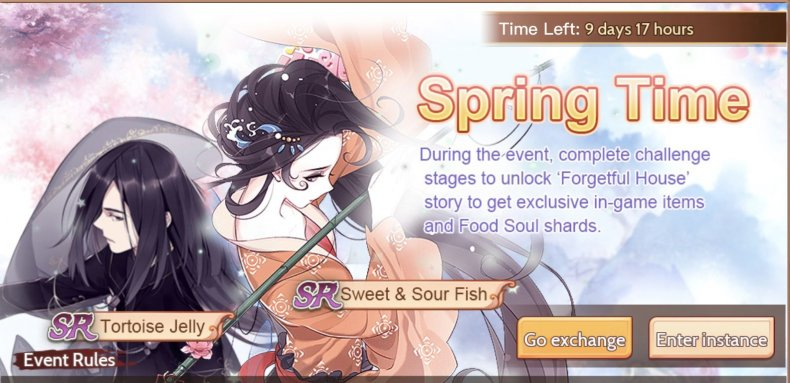 Food Fantasy Event Guide Sweet & Sour Fish Tortoise Jelly
