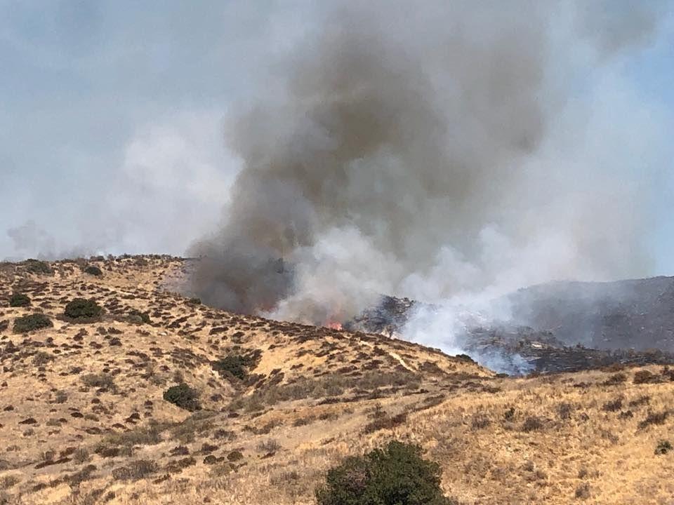 Simi Valley Fire: Yosemite Inc Brush Fire Breaks Out In California
