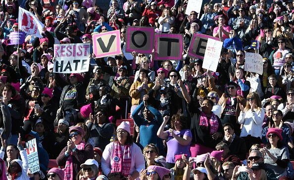 womens march vote