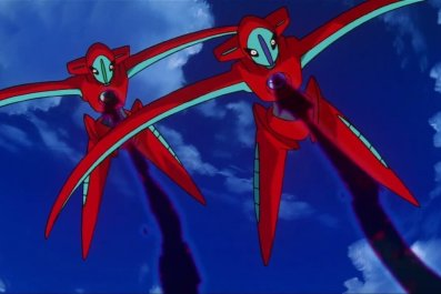 pokemon movie deoxys