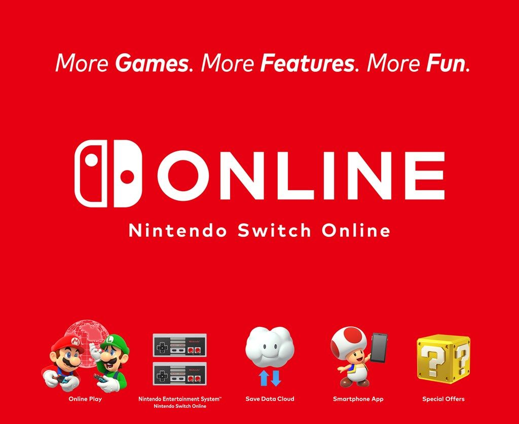 NintendoSwitchOnline_service features