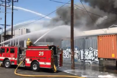 Boyle Heights Fire