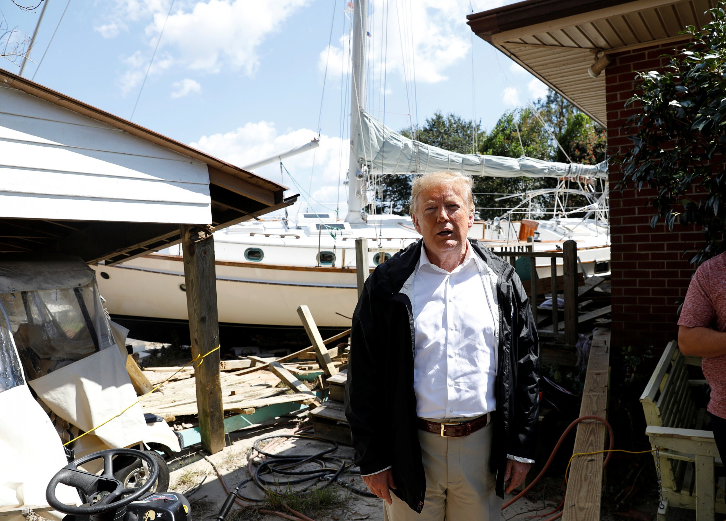 Donald Trump To Hurricane Florence Survivor At Least You Got A Nice