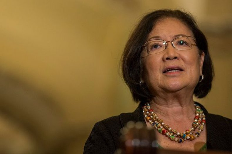 Senator Mazie Hirono, death, threats, Brett Kavanaugh accuser, Christine Blasey Ford