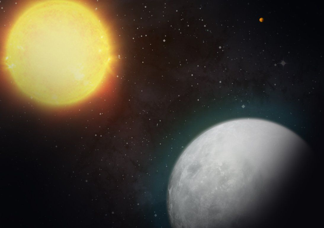 NASA's TESS finds first two candidate planets, a