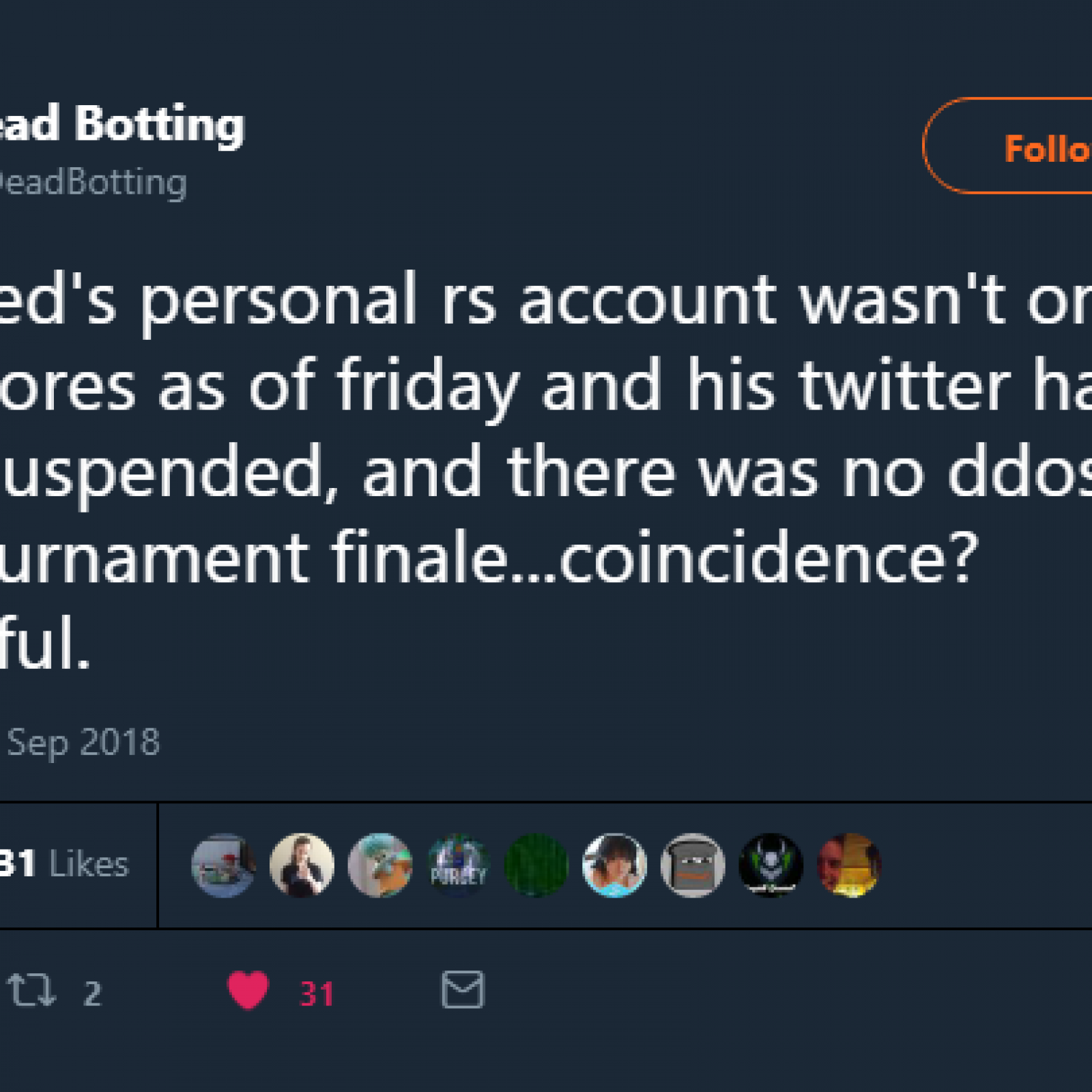 Was Mod Jed Fired? Old School 'Runescape' Team Says a