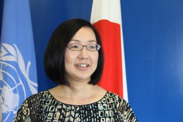 Mihoko Kumamoto, Director of the Hiroshima branch of the United Nations Institute for Training and Research