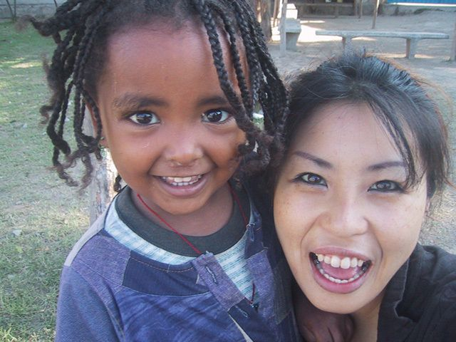 Ms. Kuriyama has volunteered at hospitals, orphanages and NGOs in Ethiopia, Kenya, Tanzania, Mozambique and beyond