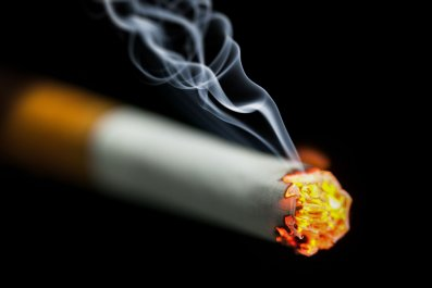 Smoking-cigarette-stock