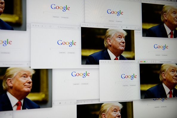 Google and Trump