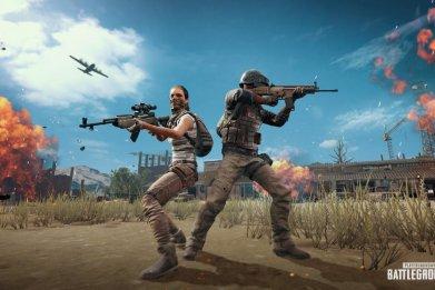 PUBG War Mode Desert Knights Xbox Art