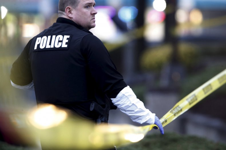 maryland father shoots two police officers search warrant