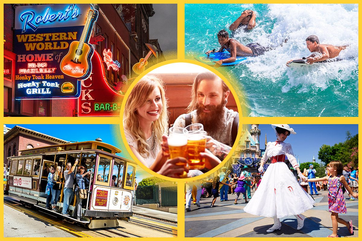 To Find Out The Which City Is Most Fun Join Us On A Tour Of America S Party Capitals Getty Images Newsweek