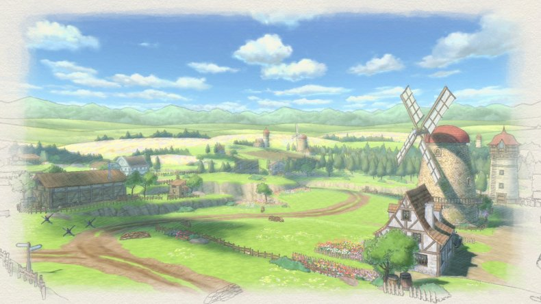 valkyria chronicles 4 interview windmill countryside