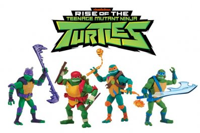 Rise of the Teenage Mutant Ninja Turtles Action Figures Header