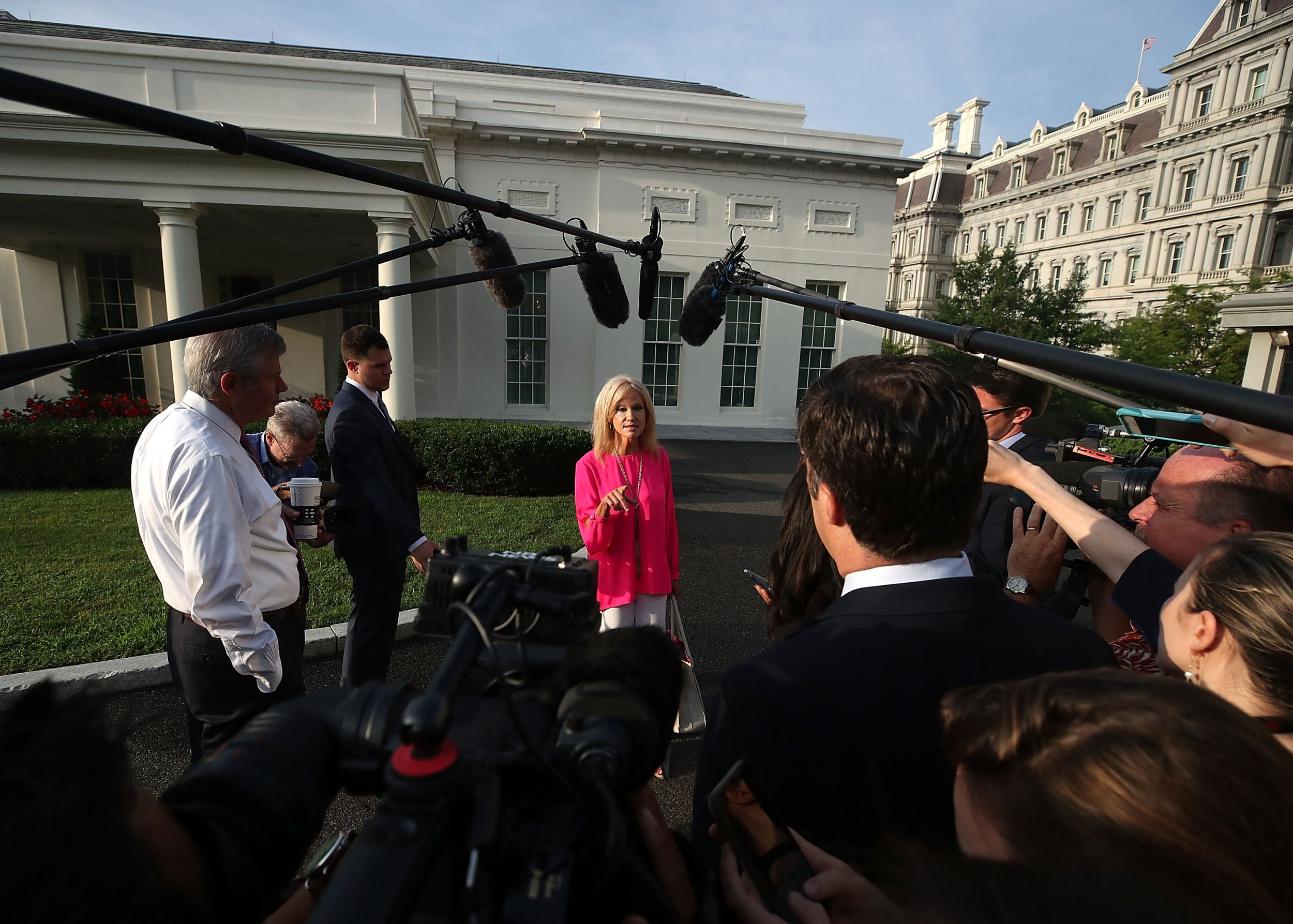 Conway threatens walk off cuomo