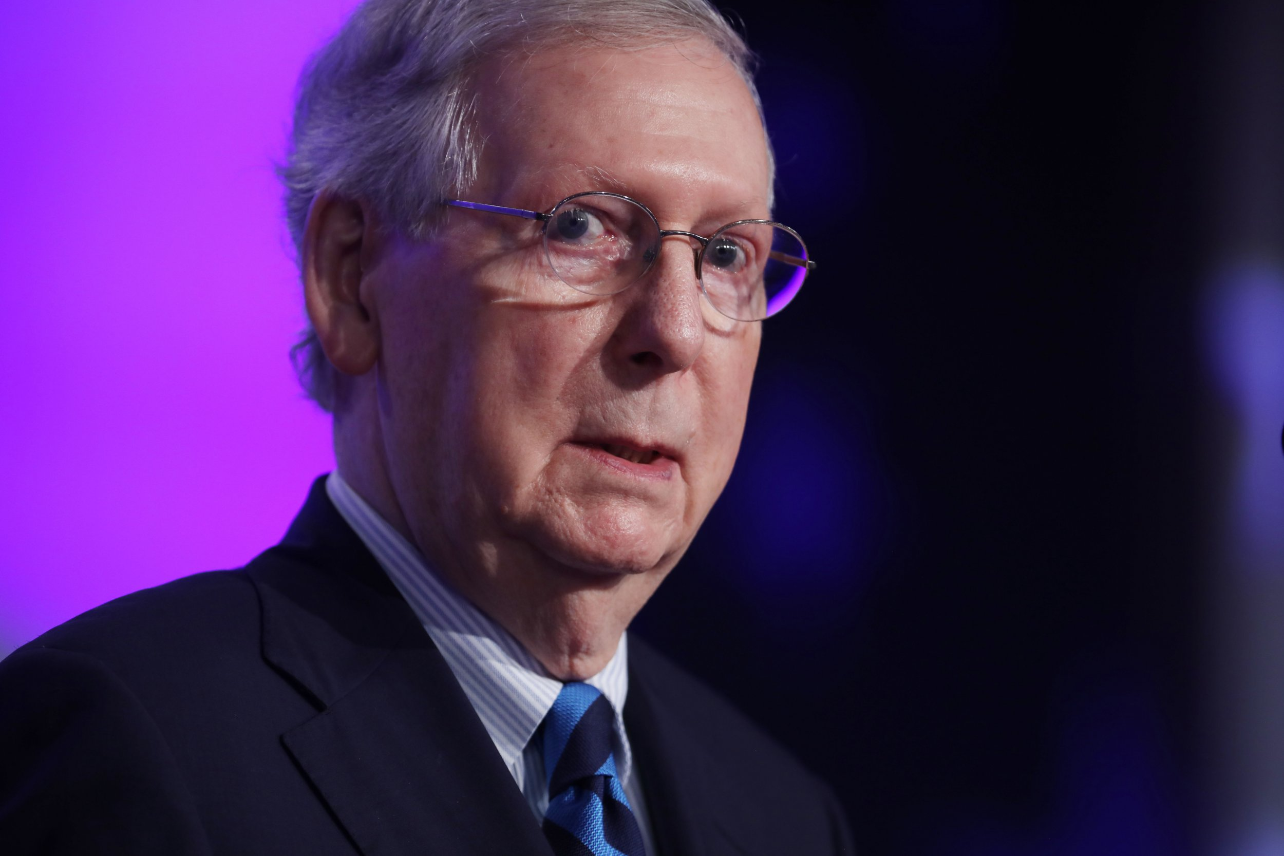 Mitch McConnell Says 'We're Gonna Plow Right Through ...
