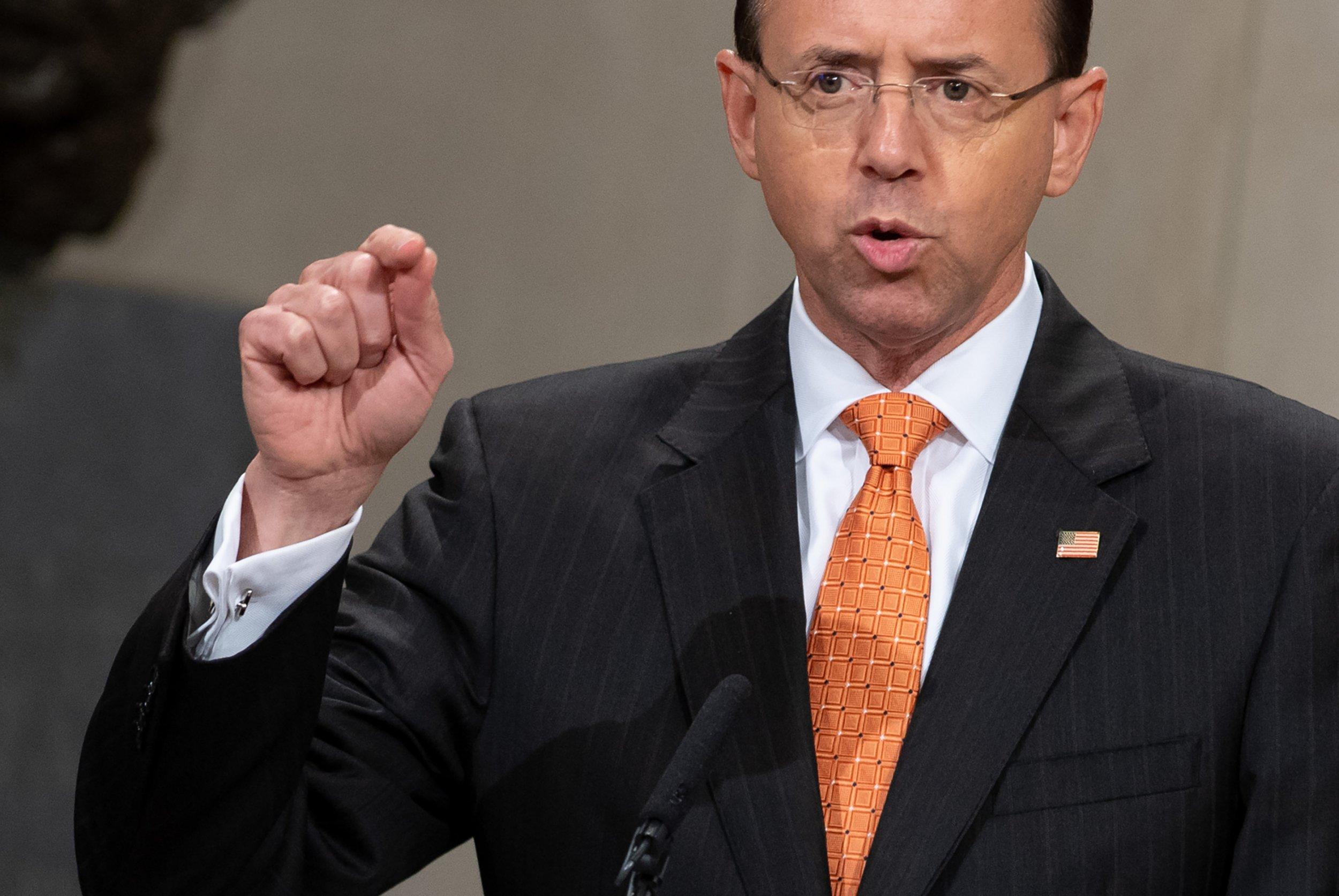 rosenstein wearing wire prove trump unfit amendment
