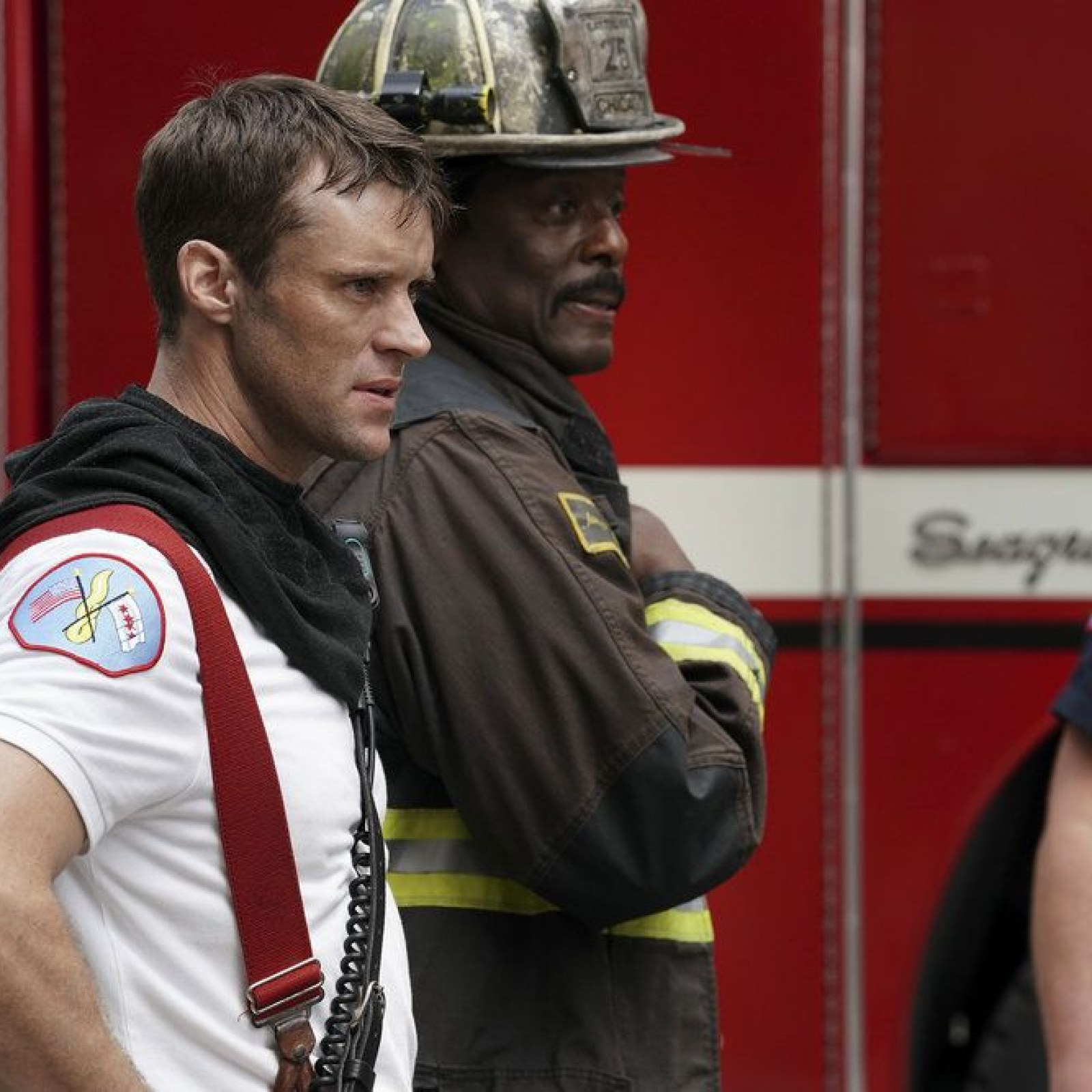 Chicago Fire Spoilers Jesse Spencer On Casey And Dawson S Relationship Status And Firehouse Politics