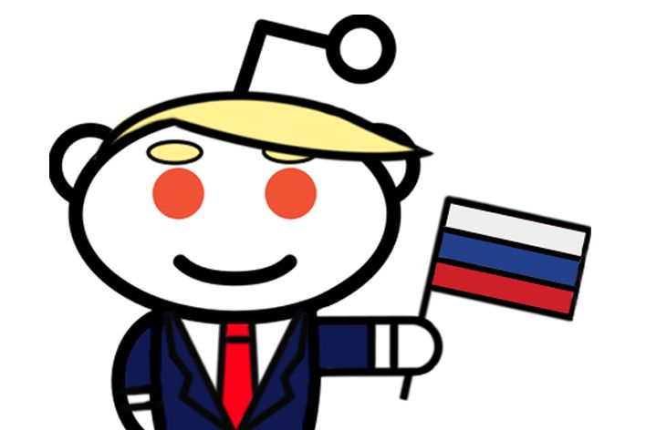 the Donald Russian Flag