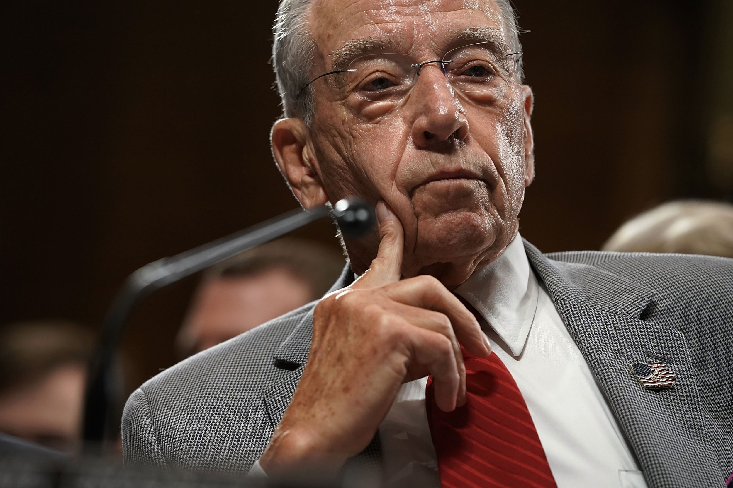garrett ventry chuck grassley resign kavanaugh sexual harassment