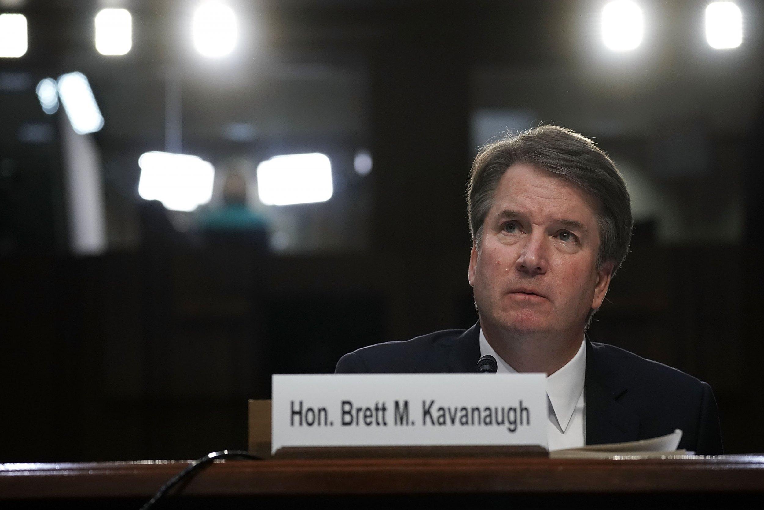 christine ford brett kavanaugh speak to senate